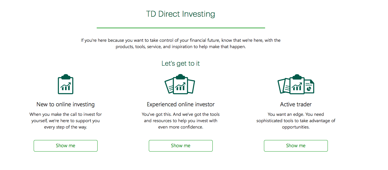 Noreen Farooqui TD Direct Investing