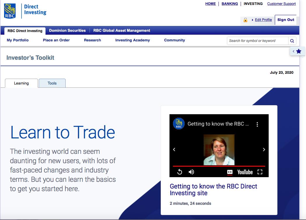 Noreen Farooqui Learn to Trade